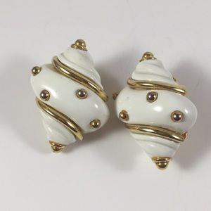 Kenneth Lane Clip Earrings